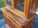Antique Louis Philippe Showcase Buffet walnut - 19th century-12