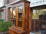 Antique Louis Philippe Showcase Buffet walnut - 19th century-8