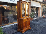 Antique Louis Philippe Showcase Buffet walnut - 19th century-3