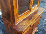 Antique Louis Philippe Showcase Buffet walnut - 19th century-11