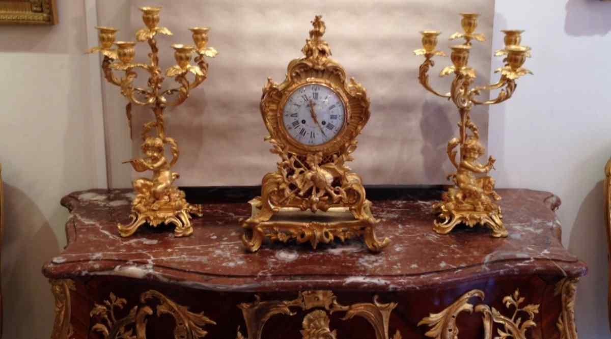 Аккуратный золотой бронзы Наполеон Raingo Brothers
