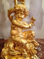 Аккуратный золотой бронзы Наполеон Raingo Brothers-11