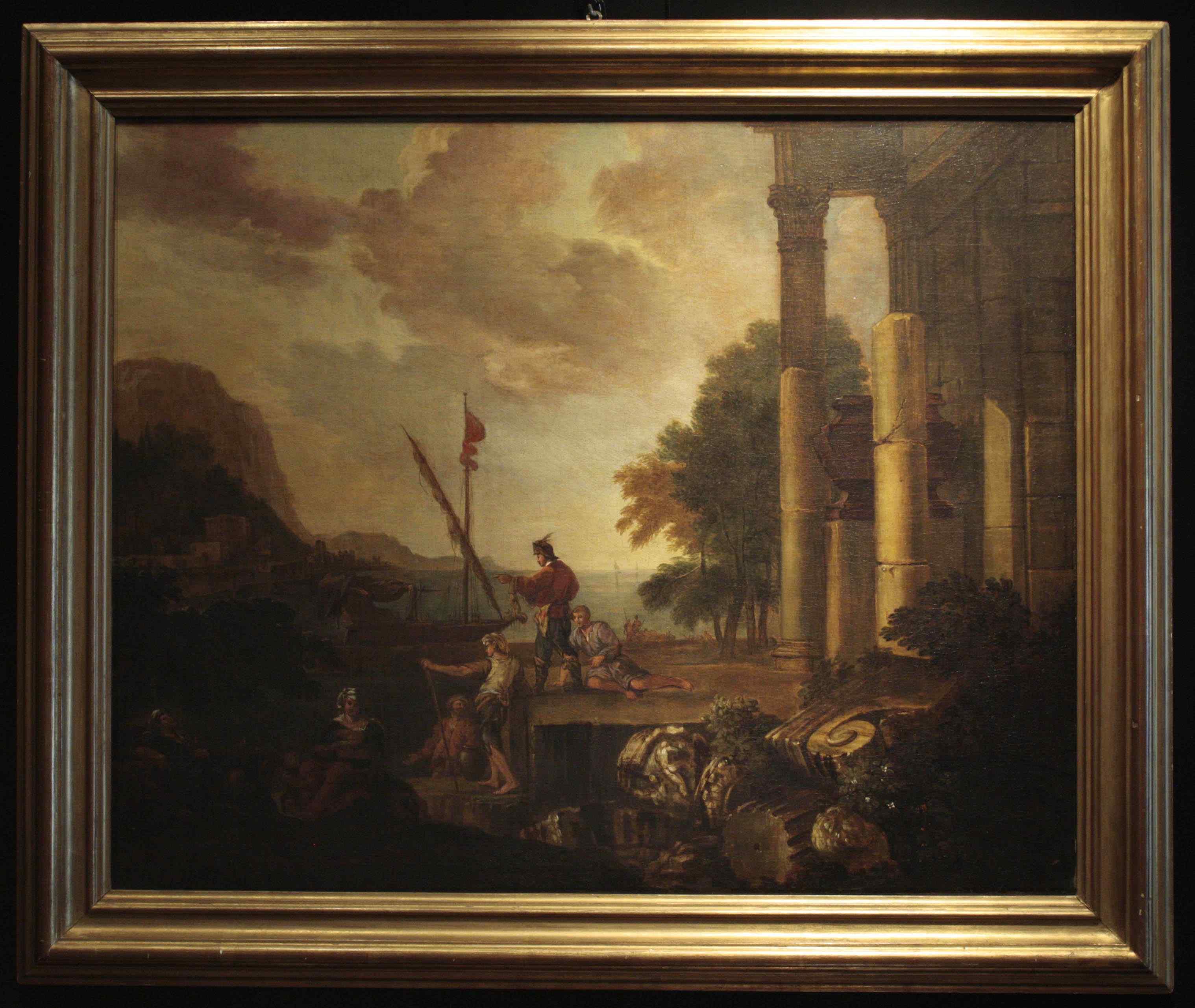 Jacob de Heush Utrecht 1657 , Amsterdam 1701 -Paesaggio