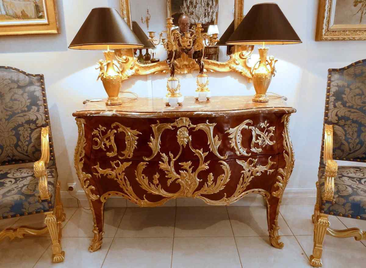 Commode dopo stile Gaudreau Regency