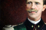Сановник Портрет подписан и датирован Виктор Эммануил III-6