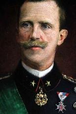 Сановник Портрет подписан и датирован Виктор Эммануил III-4