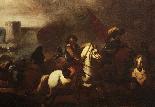 Masturzo Marzio - Battle scene around the castle-2