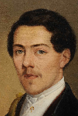 Портрет Huntsman - Abraham Constantin (1785-1855)-1