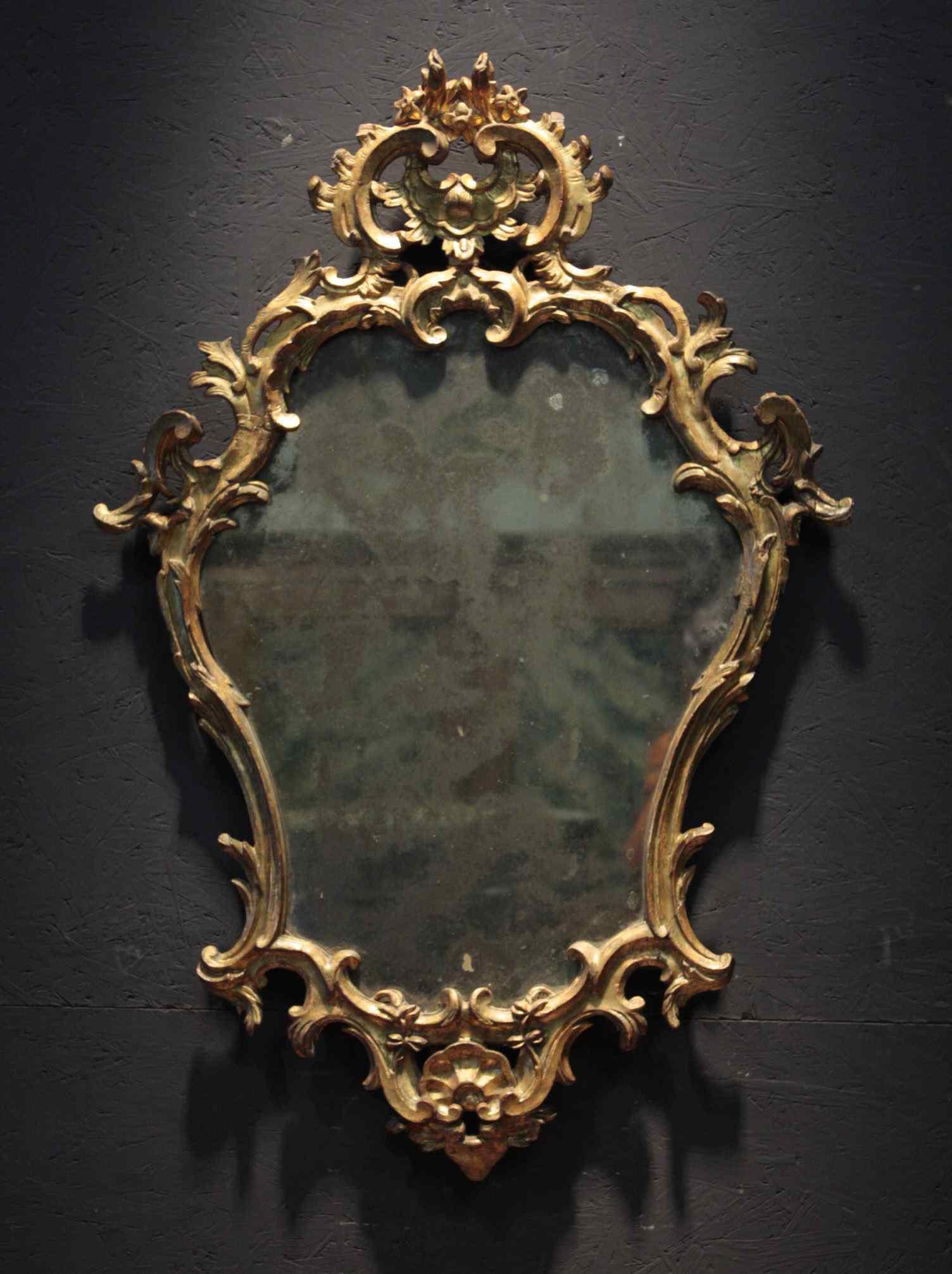 Miroir Lombarda, Louis XV