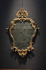 Lombarda mirror, Louis XV-1