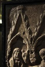 Bassorilievo in pietra - Nativita' SEC. XIV-4