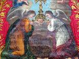 Important Lot Paintings 18th Chapel Of A Borde Castle-39