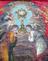 Important Lot Paintings 18th Chapel Of A Borde Castle-37