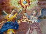 Important Lot Paintings 18th Chapel Of A Borde Castle-11