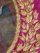 Important Lot Paintings 18th Chapel Of A Borde Castle-19