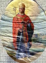 Important Lot Paintings 18th Chapel Of A Borde Castle-13