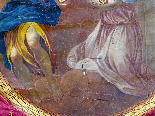 Important Lot Paintings 18th Chapel Of A Borde Castle-9