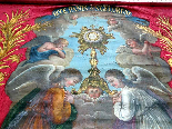 Important Lot Paintings 18th Chapel Of A Borde Castle-38
