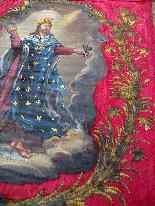 Important Lot Paintings 18th Chapel Of A Borde Castle-42