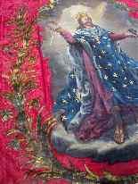 Important Lot Paintings 18th Chapel Of A Borde Castle-48