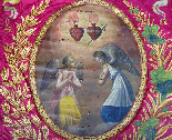 Важные картины Лот восемнадцатой Часовня на Chateau Du Борд-4