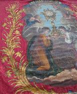 Important Lot Paintings 18th Chapel Of A Borde Castle-35