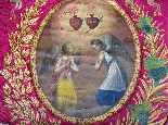 Important Lot Paintings 18th Chapel Of A Borde Castle-7