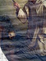 Важные картины Лот восемнадцатой Часовня на Chateau Du Борд-29