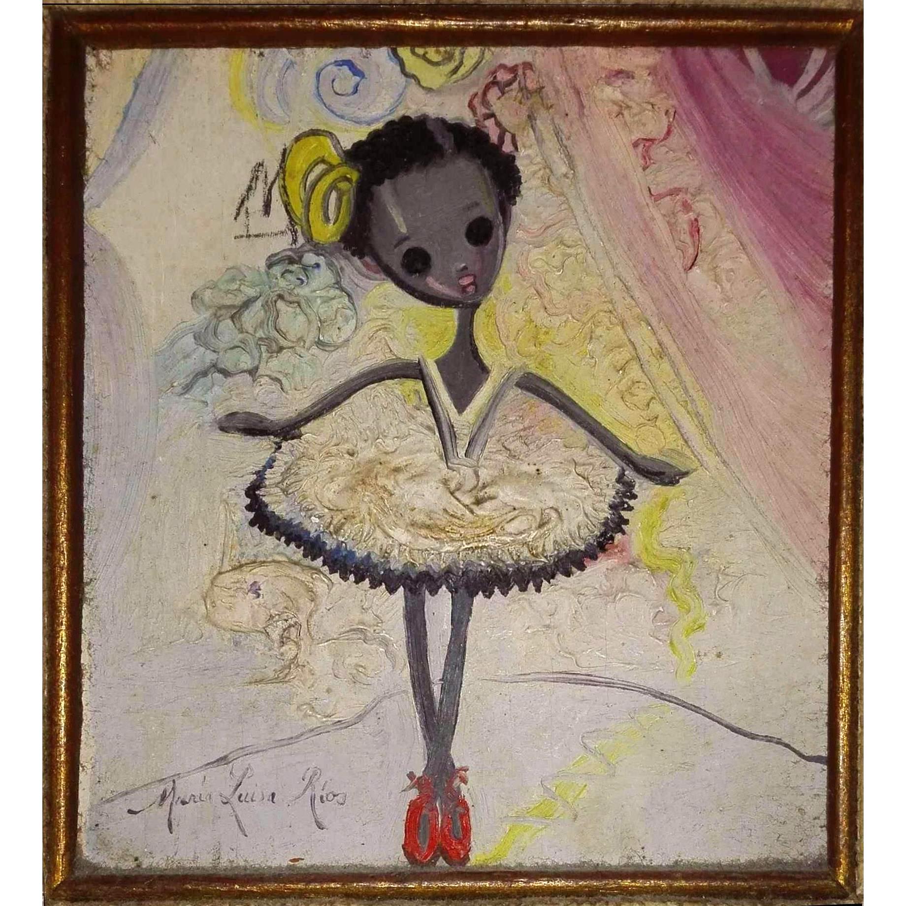Maria Luisa RIOS pittrice cubana XX secolo