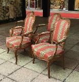 Suite de quatre fauteuils époque XVIIIème LOUIS XV-1