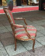 Suite de quatre fauteuils époque XVIIIème LOUIS XV-2