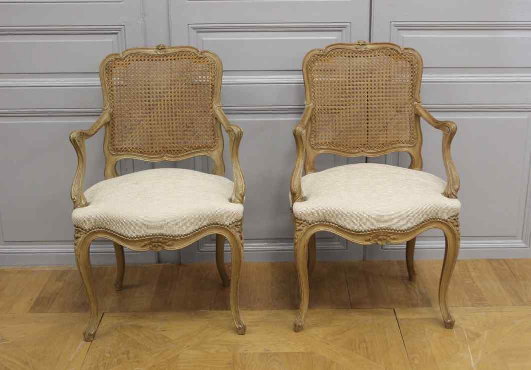 Pair of Louis XV convertibles