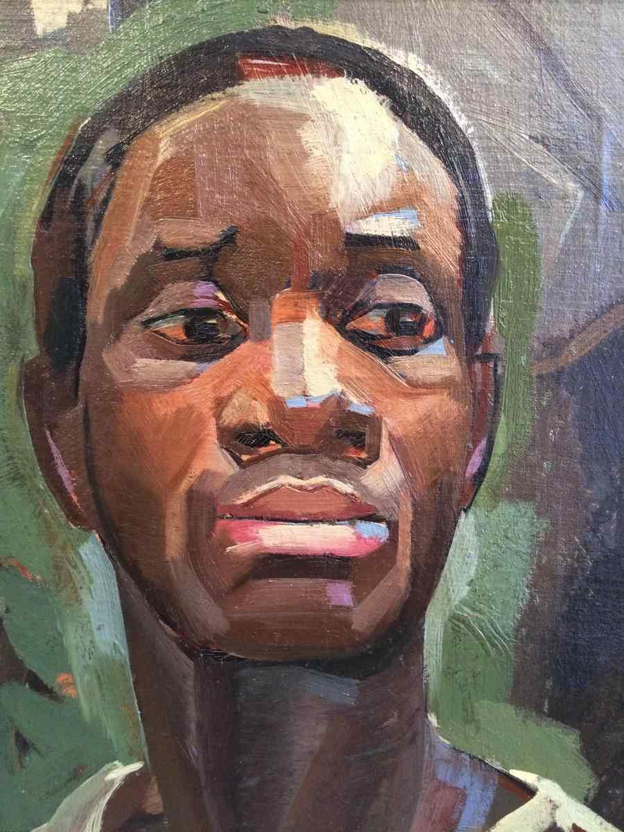 Uomo africano di Maud Gerard 1915 - 2013