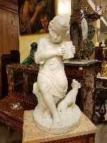 19th century marble sculpture-3