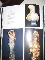 FRIEDRICH GOLDSCHEIDER Oriental woman bust-8