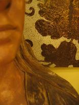 FRIEDRICH GOLDSCHEIDER Oriental woman bust-4
