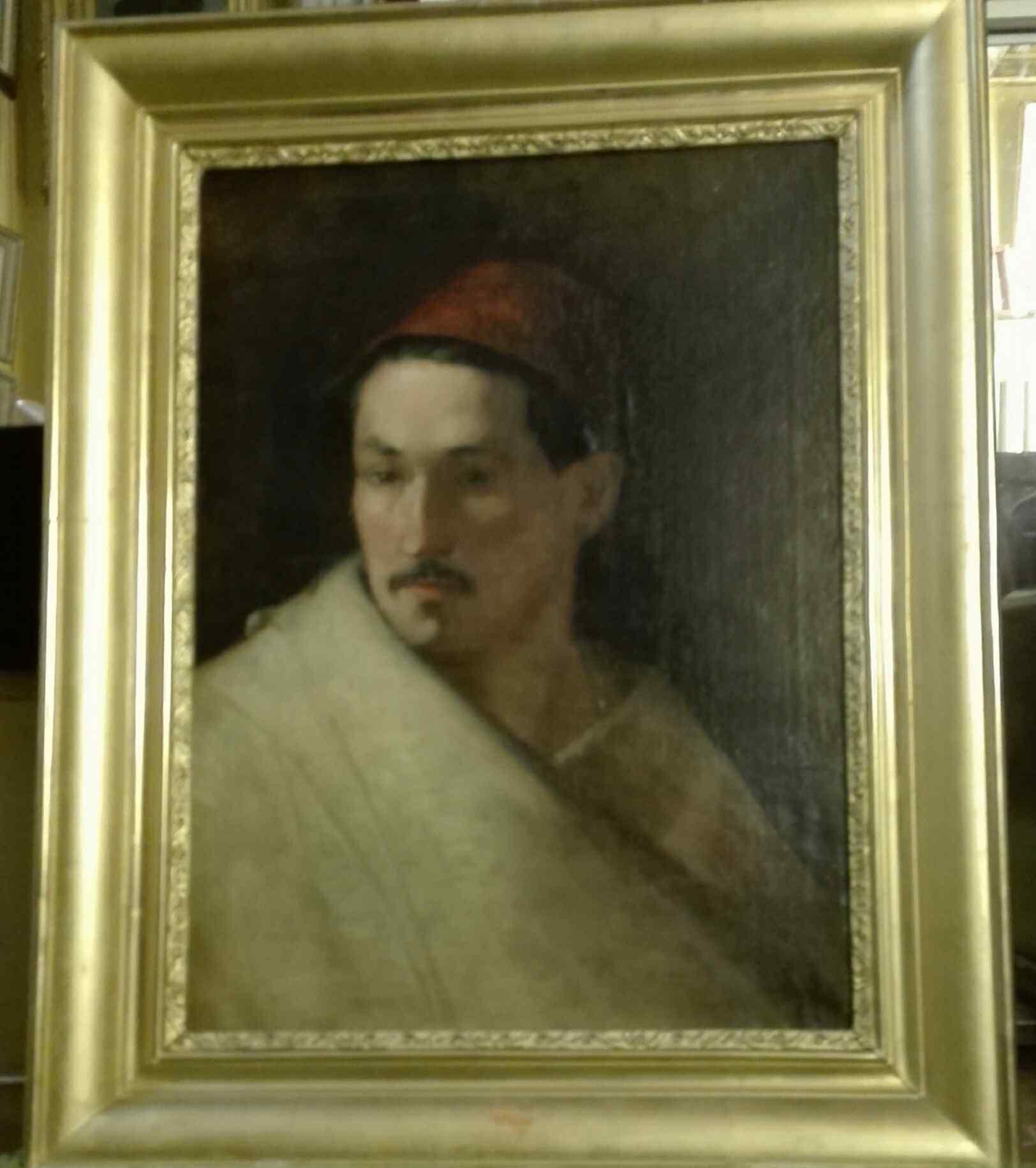 PORTRAIT OF MAN IN ORIENTAL HABIT