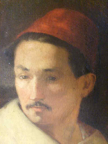 PORTRAIT OF MAN IN ORIENTAL HABIT-6