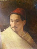 PORTRAIT OF MAN IN ORIENTAL HABIT-11