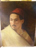 PORTRAIT OF MAN IN ORIENTAL HABIT-5