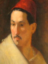 PORTRAIT OF MAN IN ORIENTAL HABIT-2