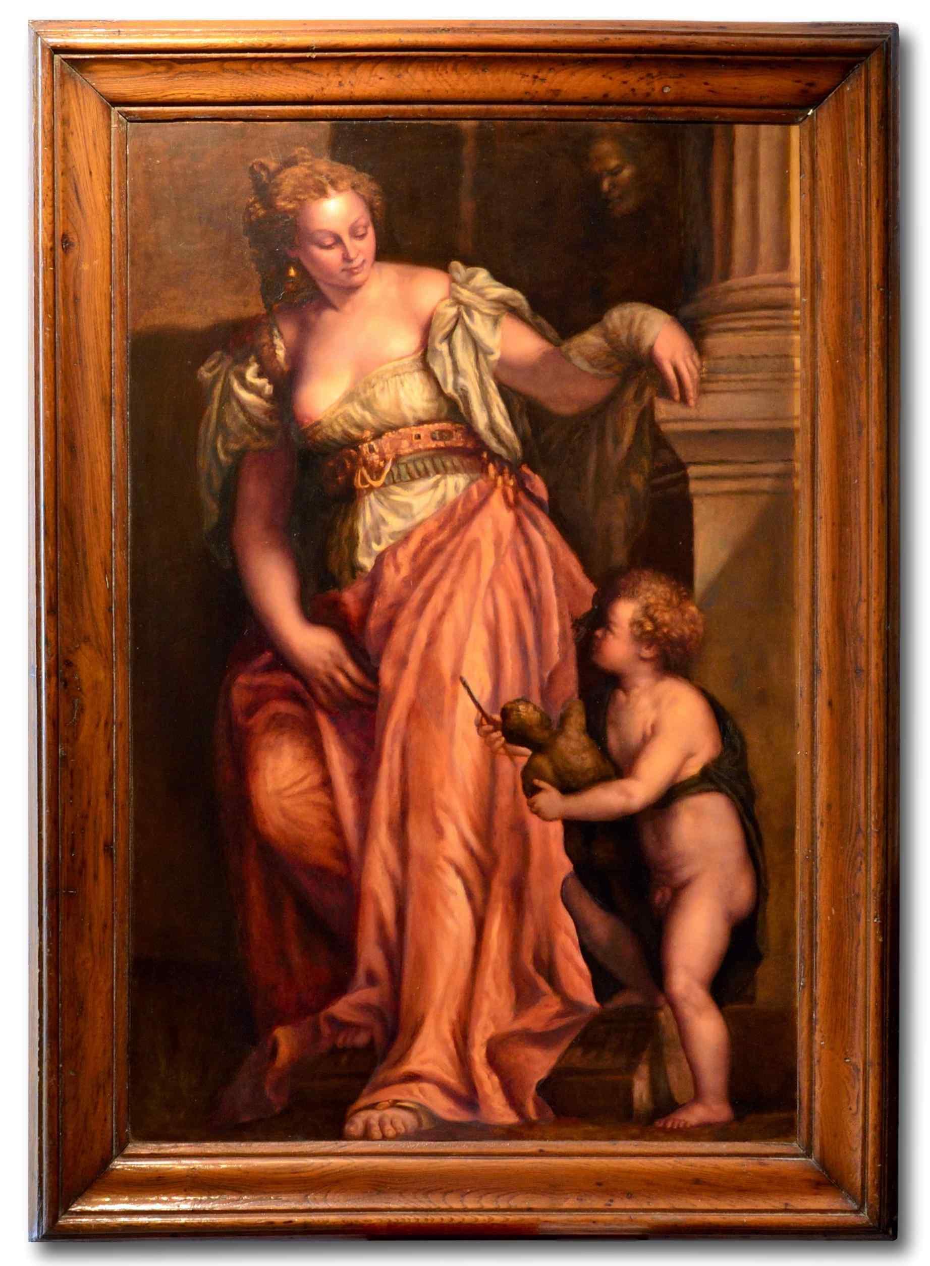 L'allegoria della scultura - Scuola veneta del XVIII secolo