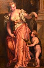L'allegoria della scultura - Scuola veneta del XVIII secolo-4