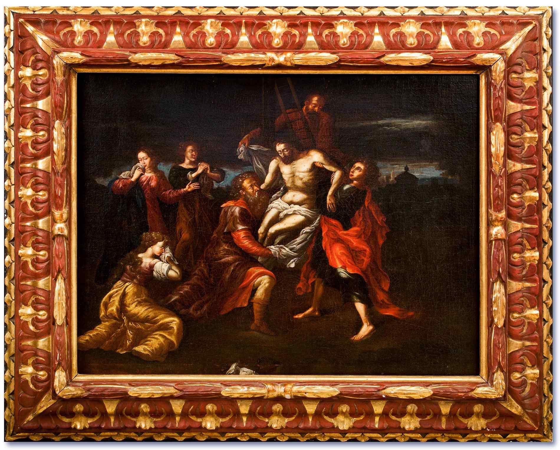 Спуск с креста - Круг Иероним Франкен