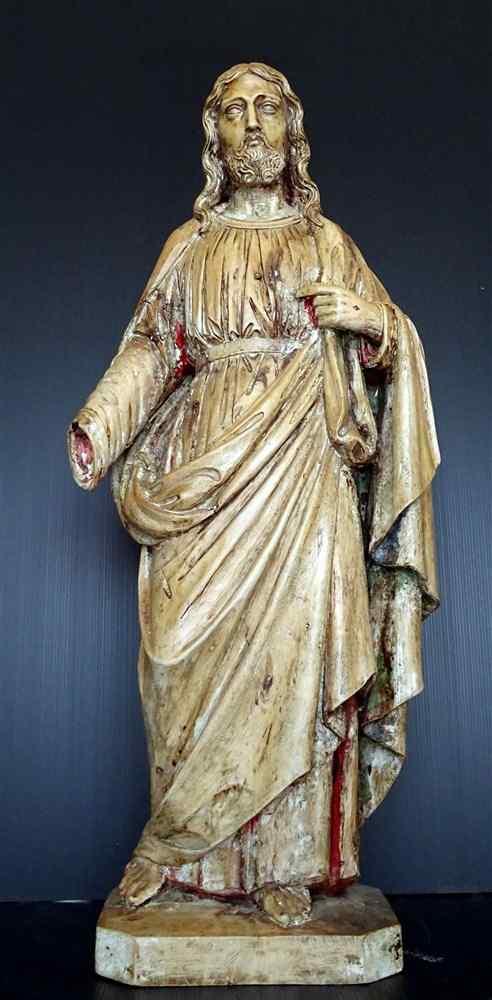 Jésus, Tilleul sculpté, 17ème