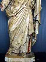 Jésus, Tilleul sculpté, 17ème-0
