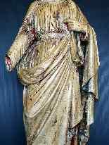 Jésus, Tilleul sculpté, 17ème-7