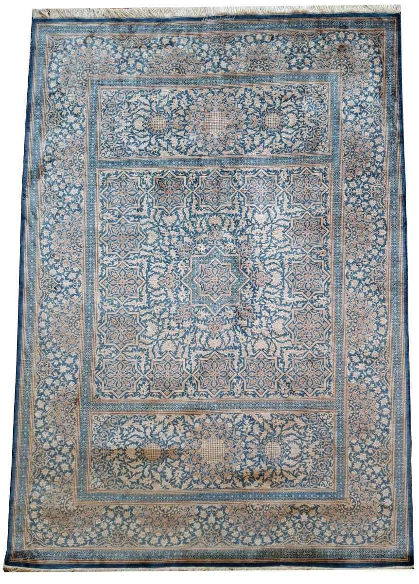 Ghoum Silk Quality Extra Fine 197x138 Cm - Shah Era - I