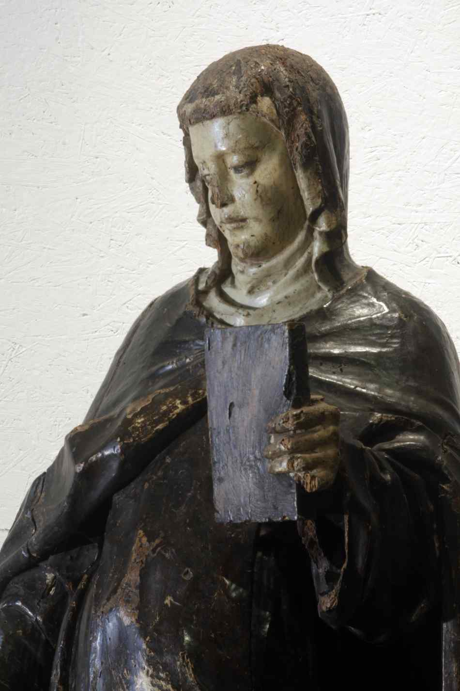 Wooden sculpture, Santa Caterina, Siena, 15th century