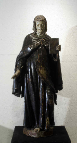 Wooden sculpture, Santa Caterina, Siena, 15th century-1